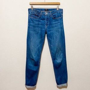 Kate Spade Saturday Medium Wash Stright Jeans 26